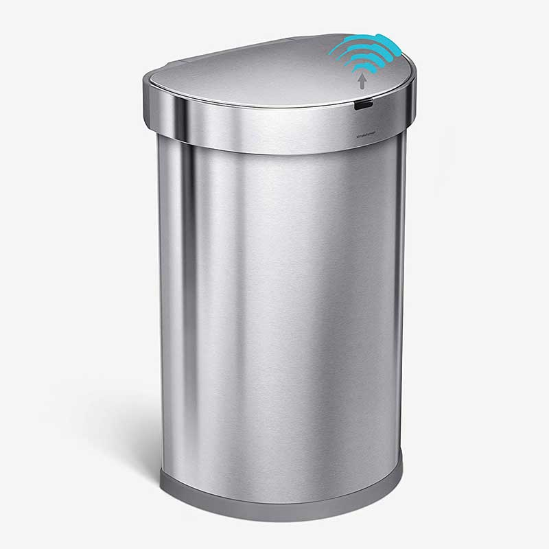 10.Simplehuman-Automatic-Sensor-Trash-Can