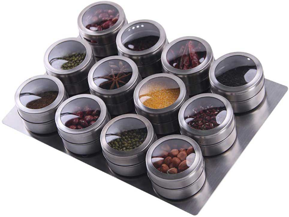 3.-Sanvcomy-12-Magnetic-Spice-Tins--Stainless-Steel-Spice-Storage-Containers