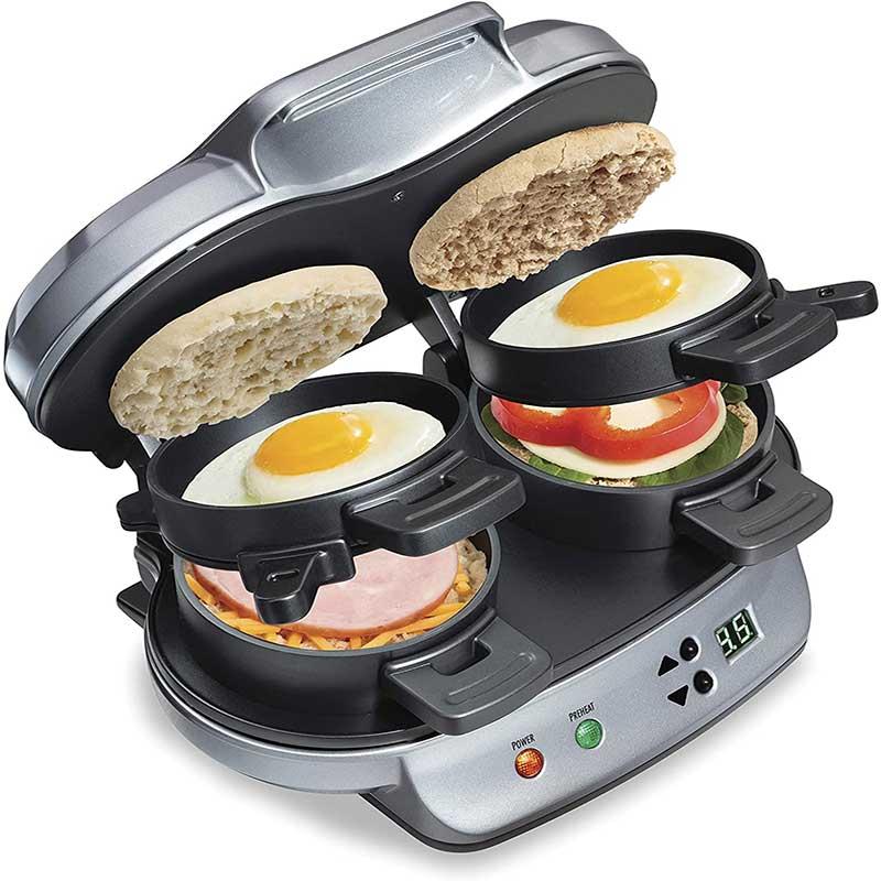 3.Dual-Breakfast-Sandwich-Maker