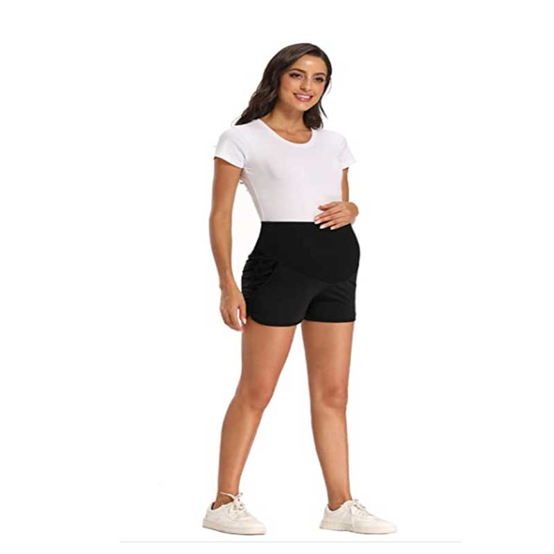 2.Fitglam-Women's-Maternity-Shorts